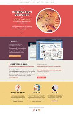Janko Jovanovic - www.jankoatwarpspeed.com #minimalist #web #portfolio