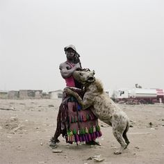 THE HYENA & OTHER MEN - PIETER HUGO #photo