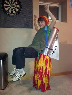 Jetpack for kid #homemade #diy #costume