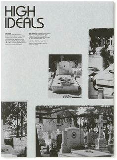 High Ideals - Experimental Jetset #print #publication #photography
