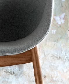 Ergonomic Polyurethane Chair by Andrea Radice & Folco Orlandini Design