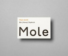 Mole Architects