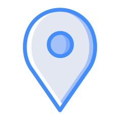 See more icon inspiration related to pin, ui, map pointer, map point, map location, placeholder, interface and signs on Flaticon.