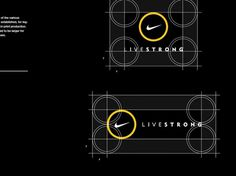 Livestrong_6 #logo #branding #geometry #nike #guidelines #lockup