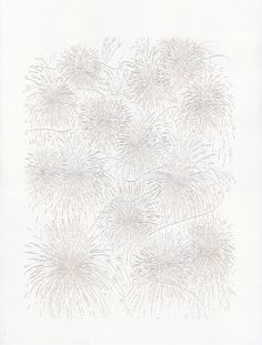 Fireworks Lasercut #print #fireworks #illustration