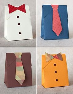 Lovely tie packages