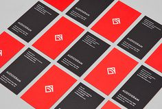 Audiogram by Philippe Gauthier and DeuxHuitHuit #red #stationary #branding