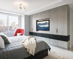 bedroom by StudioLAB in New York City