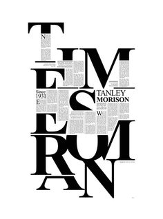 Times New Roman on Behance #type