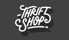 Visualgraphc: Photo #shop #thrift #typography
