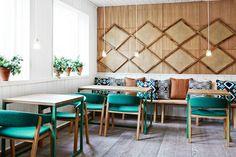 Vino Veritas Oslo by Masquespacio #interior #shop #restaurant