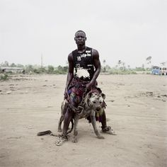 THE HYENA & OTHER MEN - PIETER HUGO #the #photography #men #pieter #hugo #hyena