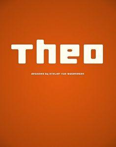 Novo Typo - Theo #novo #design #typeface #typo #typography