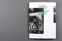 FFFFOUND! | La ligne Cotonou | Salutpublic #cover #image #book #green