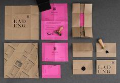 SUITE212 einladung 10 Jahre #stamp #stationary #pink #print #kraft