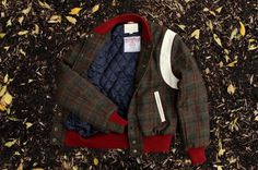 Kith NYC x Harris Tweed Outerwear Collection by Goldenbear 06 #fashion #mens #jacket