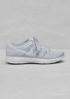 Nike Fly Knit Lunar offwhite #lunar #shoes #white #offwhite #nike #sneakers #fashion #grey