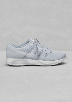 Nike Fly Knit Lunar offwhite #lunar #shoes #white #offwhite #nike #sneakers #fashion #grey