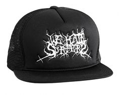 12922432431.jpg (imagem JPEG, 600×480 pixels) #black #logo #hat #metal #weird