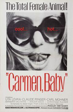 Movie Poster of the Week: The films of Radley Metzger on Notebook   MUBI #metzger #radley #poster