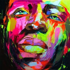 2011 on the Behance Network #francoise #colorful #nielly #painting