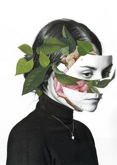 Paper collages by Madrid-based artist Rocio Montoya. More images below.       Rocio Montoya's Website Via: Ignant
