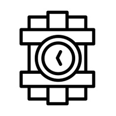 See more icon inspiration related to bomb, terrorism, dinamite, miscellaneous, security and time on Flaticon.