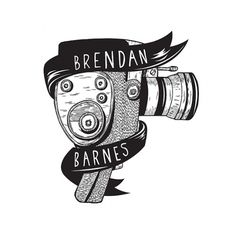 BRENDAN BARNES on the Behance Network #logo #camera