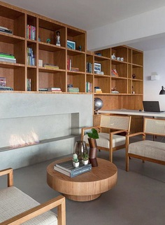 Natural Materials Create a Warm and Peaceful Family Apartment in Sao Paulo 1