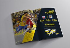 USA Futsal brochure on Behance