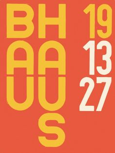 Typography, autotraced #white #red #yellow #autotraced #germany #bauhaus