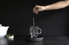 Revolutionize the way you boil water and heat only what you need with just an induction rod and plate! #electric #modern #lifestyle #design #home #product #industrial #kettle #style