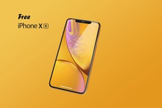 Free iPhone XR Mockups for 2019 [PSD, Sketch] – UX Planet