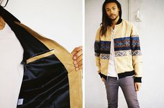 a kind of guise suede bomber 03 #fashion #mens #jacket