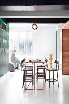 KitchenA4 #design #wood #office #interior #good #brick #common