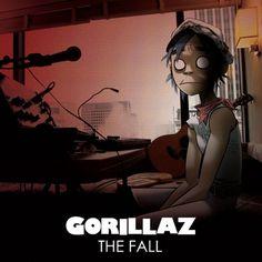 Gorillaz - The Fall #illustration #album art #gorillaz #the fall