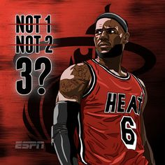 ESPN NBA Illustrations on Behance #heat #lebron #espn #nba #basketball #miami