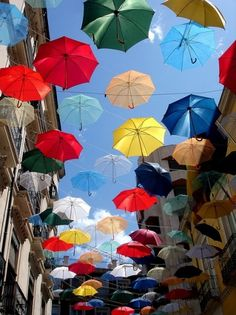 Your favorite photos and videos | Flickr #bunting #umbrellas #colour #multi