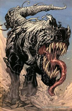 Old Man Logan - Venom T-Rex #old #venom #rex #logan #marvel #man #comics