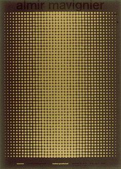 Almir Mavignier – Cartazes, 1957-2008 – Acervo Museu de Arte Moderna de São Paulo #sf