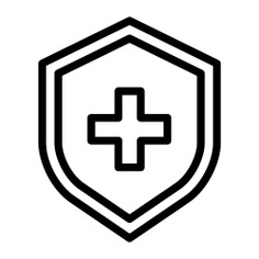 See more icon inspiration related to shield, medical insurance, healthcare and medical, insurance, protected, healthcare, security and medical on Flaticon.