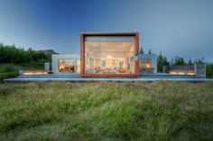 Serene Family House in Iceland With an Eco-Conscious Design #architecture