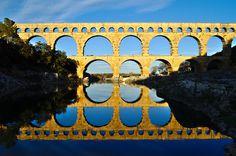 by dkilim #bridge #reflection #contrast