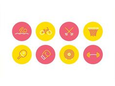 Olympic_icons #icons