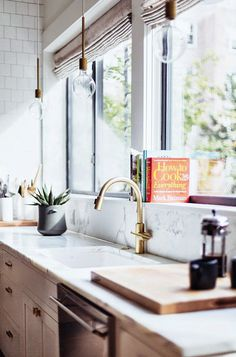 dream house: the kitchen window / sfgirlbybay #interior design #decoration #decor #deco #kitchen