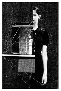 I don't wear dresses #illustration #collage