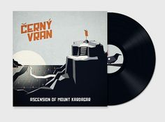 CERNY VRAN on the Behance Network #vinyl #illustration #cerny #vran