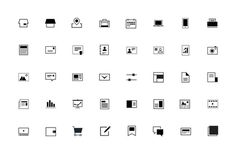 Line and Block Icons