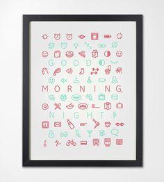 Good Morning, Night #inspiration #design #graphic #professional #quality