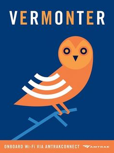 Clever Amtrak Wi-Fi Posters #poster